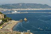 Costiera Amalfitana, Salerno, Campania, Southern Italy: The Coast At Summer (july). Vietri Sul Mare poster