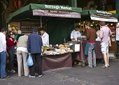 Shopping at Borough Market