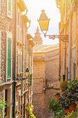 Outdoors Valldemossa, Famous Old Mediterranean Village Of Majorca Island Valldemossa, Mallorca, Spai poster