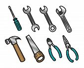 Ícones de ferramenta