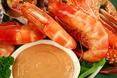 Shrimps And Dip