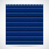 Siding Texture Panel Blue Color