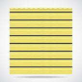 Siding Texture Panel Lemon Color