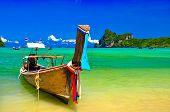 Beautiful phi phi island in Thailand