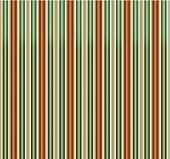 Retro Stripes Green-brown Background