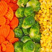 Mixed frozen vegetables