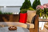 Outdoor Patio Seating Area