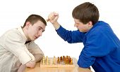 Men Play Chess