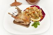 Whole Roasted Quail