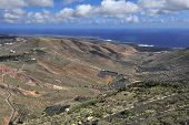 The Temisa Valley At  Lannzarote Island, Canary Islands, Spain