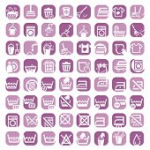 big color cleaning icons