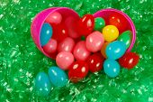 Easter Egg And Jellybeans