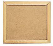 Hardboard In A Frame