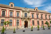 The Palace Of The Archbishops In Seville Spain