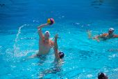 Stanford, California - June 7, 2009 : Usa:serbia Friendly Waterpolo Game At The Avery Aquatic Center