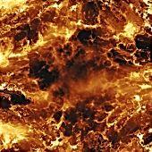Fiery Explosion