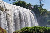 Elephant Waterfall. Dalat. Vietnam