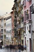 Pamplona Architecture - Nice Buildings Near To City Center, Spain, Europe