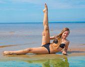 stock photo of denude  - Bikini Spa Glamor  - JPG