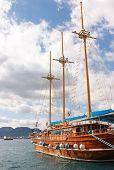 Yacht In Marmaris