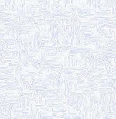 Handwritten labyrinth (maze) background