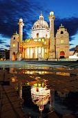 Vienna Karlskirche, Austria