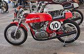 Old Racing Motorcycle Ducati