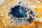 Yellowstone National Park, Chinese Spring In The Upper Geyser Basin, Wyoming