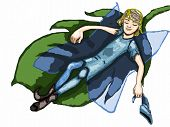 A Little Fairy Teen Catching A Nap ...