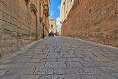 Old Street In Malta