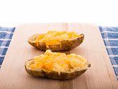 Half Baked Cheesy Potatoes