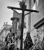 Christ, Holy Week in Seville, Spain.