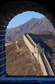 The Great Wall through an Arched Window
