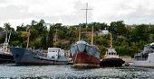 Ships In The Southern Bay Of Sevastopol