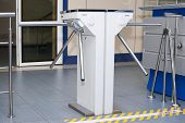 Turnstile Turntable. Crossing control system.