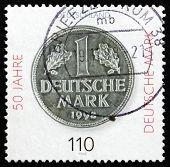 Postage Stamp Germany 1998 Deutsche Mark