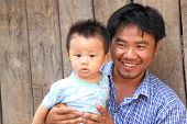 Luang Prabang Lao family
