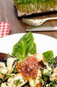 Roasted Serrano Ham And Turkey Fillet