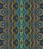 Abstract vector tribal ethnic bseamless pattern