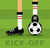 Match kick off