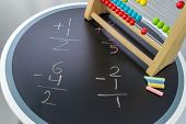 Math Study with abacus help