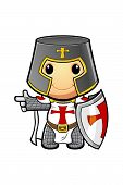 St George Cartoon Knight