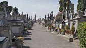 The Graveyard at CARCASSONNE CASTLE FRANCE
