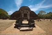 image of vihara  - Ancient Buddhist dagoba  - JPG