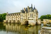 The Chateau Chenonceau, On The River Cher