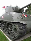 Canadian Army Tank
