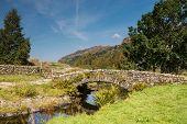 Watendlath Stone Footbridge
