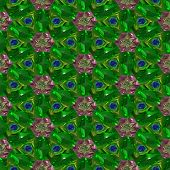 Crystal Gems Seamless Generated Texture