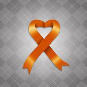 Awareness Orange Ribbon
