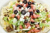 Taco Salad Closeup